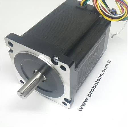 8,5 Nm Step Motor Nema34 86Hs85 Ø14Mm